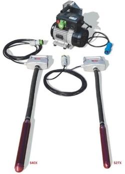 Vertikalūs nešiojami giluminiai vibratoriai S27X, S40X